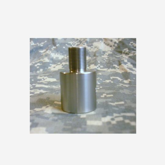 1/2-28 Barrel Thread Adapter for Non-Threaded Barrels