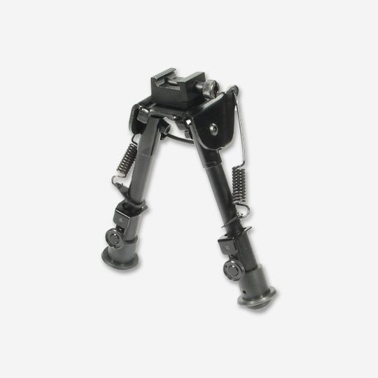 UTG Tactical OP Bipod Rubber Feet Center Height 6.1in-7.9in