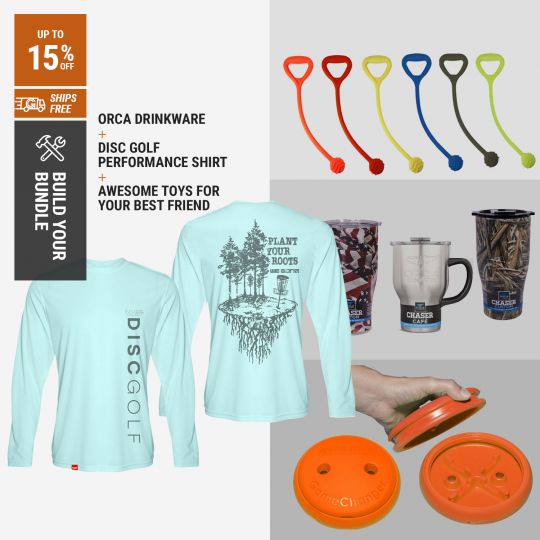 Bundle and Save - Disc Golf - Kit for you and your Dog