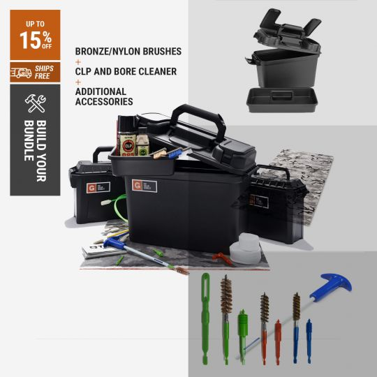 Build Your Own Gungenics Pistol Cleaning Kit