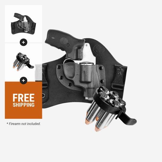 Revolver SuperTuck® IWB and CK Tactical 5 Shot Speedloader | Select