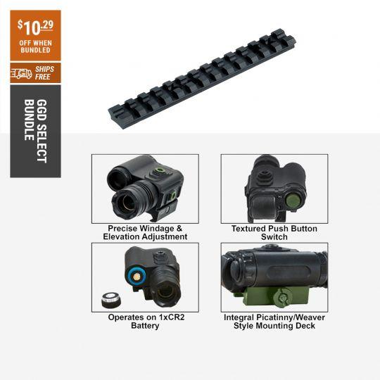 Shockwave Green Laser Bundle | Go Gear Direct Select
