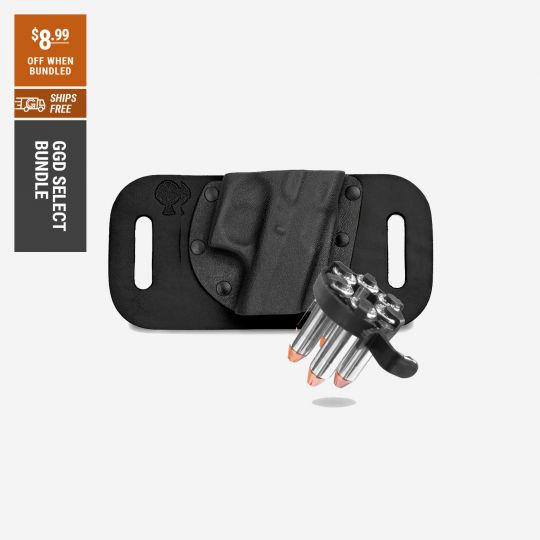 CrossBreed Revolver Snap Slide Holster and CK Tactical 5 Shot Speedloader   Go Gear Direct Select
