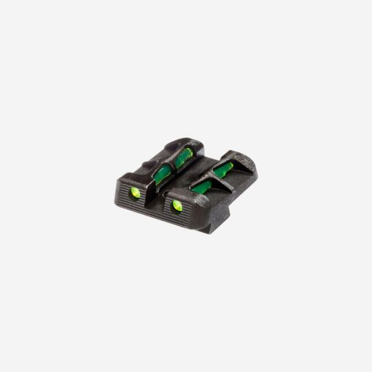 HI VIZ LiteWave REAR Sight for Glock 9mm, .40 S&W & .357 Sig.
