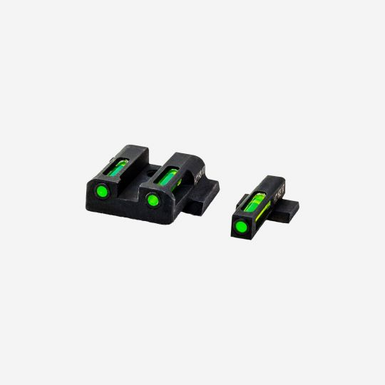 HI VIZ Litewave H3 Tritium/Litepipe S&W M&P sight set