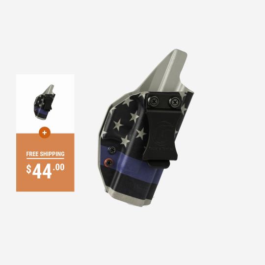 Thin Blue Line Custom Printed Glock 19 Holster