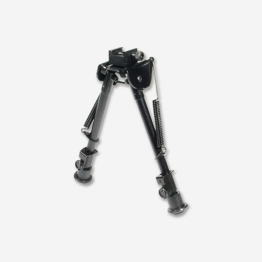 UTG Tactical OP Bipod Rubber Feet Center Height 8.3 in - 12.7 in