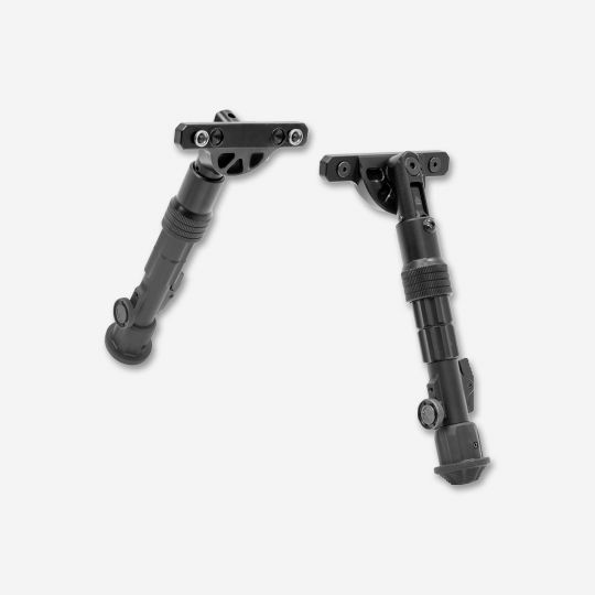 UTG Recon Flex Key Mod BiPod matte black 5.7in - 8in